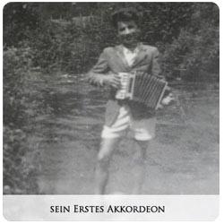 Valentin Zupan - Sein erstes Akkordeon